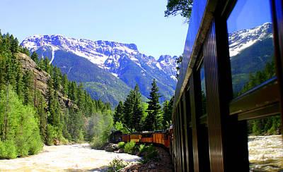 Photograph - Durango Silverton Steam Train by Jack Pumphrey