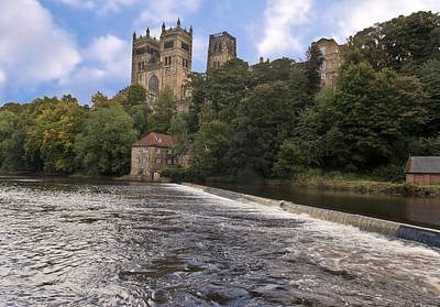 Durham Cathedral Art Print by Trevor Kersley