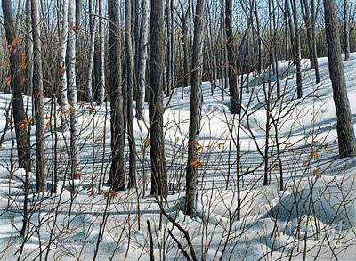 Painting - Durham Forest by Robert Hinves