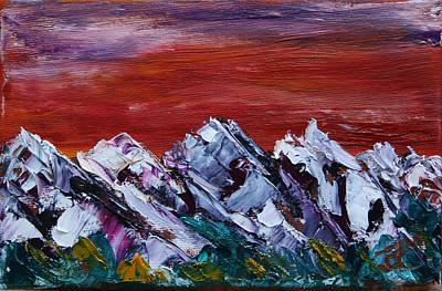 Painting - Dusk Near Banff by James Bryron Love