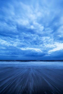 Photograph - Dusk On Fire Island II by Rick Berk