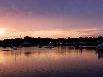 Photograph - Dusk On King's Bay by Judy Wanamaker