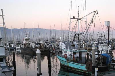 Photograph - Dusky Fishing Boats by Sue Halstenberg