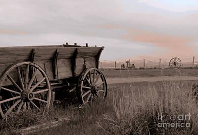 Dusky Wagon Art Print