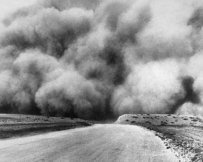 Photograph - Dust Bowl, 1935 by Granger