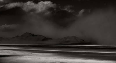 Photograph - Dust Storm by Gary Rose