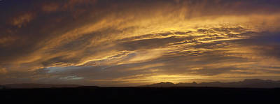 Photograph - Dust Storm Sunset 1 by Gregory Scott