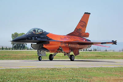 Photograph - Dutch F-16am by Tim Beach