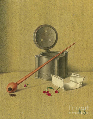 Painting - Dutch Still Life by Victor Sap