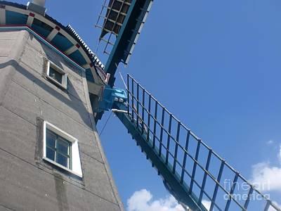 Dutch Windmill Art Print by Anastasis  Anastasi