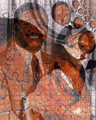 Duvalier Et Bennette  Art Print by Fania Simon