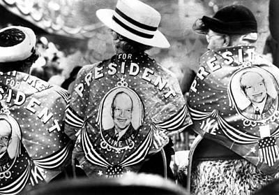 Dwight D. Eisenhower Supporters Mrs Art Print