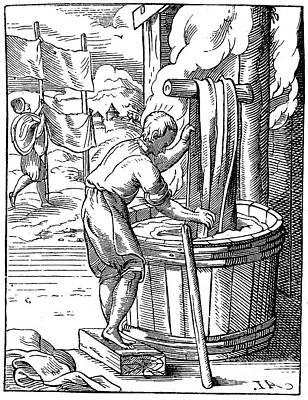 Dyer, 16th Century Art Print by Granger
