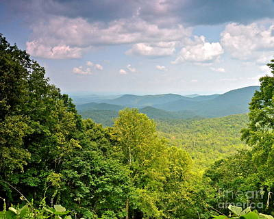 Photograph - Dyer Mountain Summer Scenery by Carol  Bradley