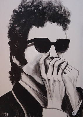 Painting - Dylan by Pete Maier