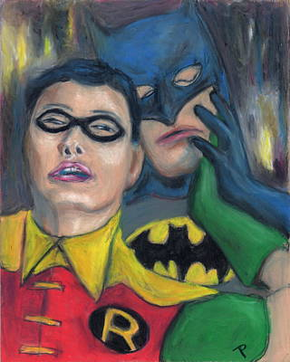 Painting - Dynamic Duo  by Todd  Peterson