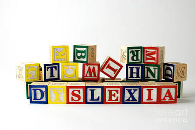 Dyslexia Print by Photo Researchers, Inc.
