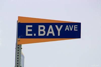 E. Bay Ave Art Print by Heidi Smith