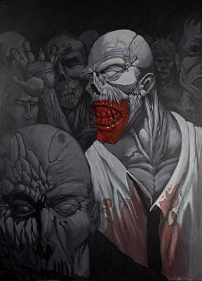 E Pluribus Unum Art Print by Jake Perez