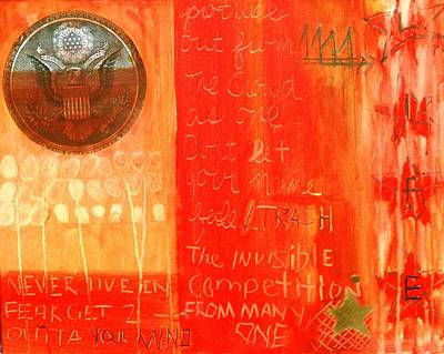 Etc Mixed Media - E Pluribus Unum by Nik Olajuwon Shumway