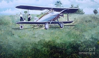 E Ppley Airfield Art Print by Judy Groves