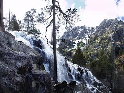 Photograph - Eagle Falls 2 by Ernie Claudio