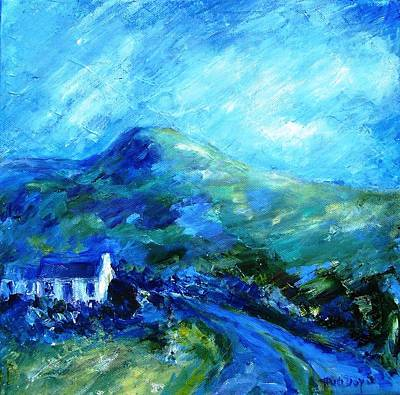 Eagle Hill Lane -ireland  Art Print
