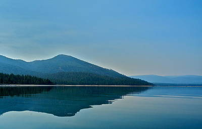 Photograph - Eagle Lake Blues by Kirsten Giving