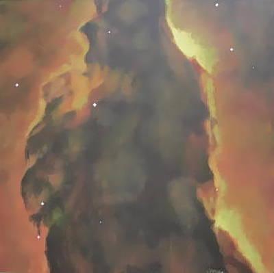 Eagle Nebula Original by Jim Ellis