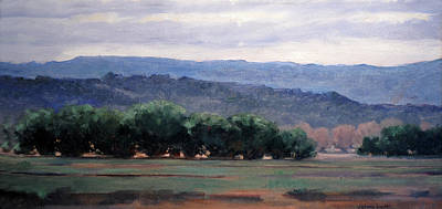 Painting - Eagle Ranch by Victoria  Broyles