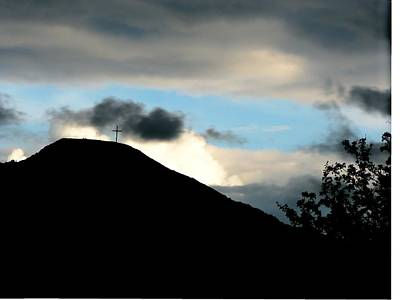 Photograph - Eaglehill Silhouette. by Joseph Doyle