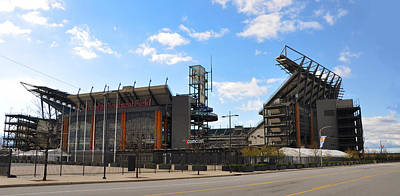 Eagles - The Linc Art Print by Bill Cannon
