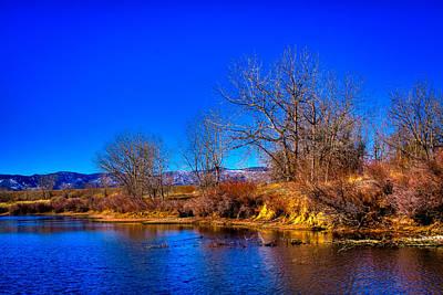 Photograph - Eaglewatch Lake II by David Patterson
