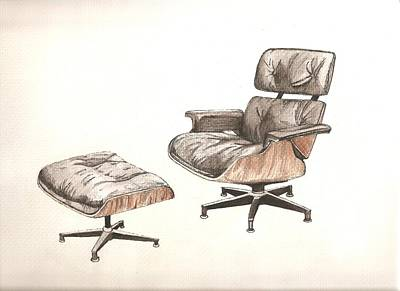 Eames Original Art Print