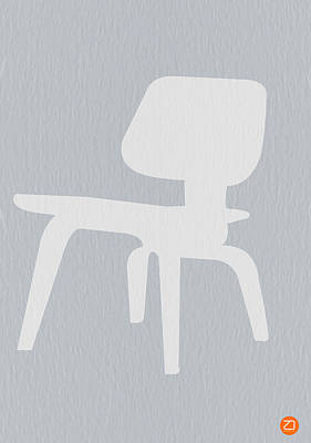 Eames Photograph - Eames Plywood Chair by Naxart Studio