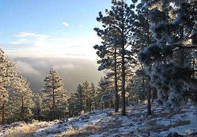 Photograph - Early Am Above Boulder-photo by William Frew