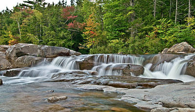 Photograph - Early Autumn At The Lower Falls by Paul Mangold