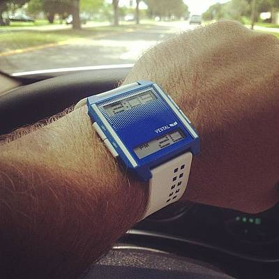 Watch Photograph - Early Bday Gift! @vestal #watch by Christopher Morrow