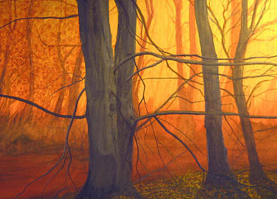 Robert Duvall Painting - Early Dawn by Robert Duvall