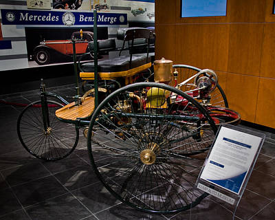 Photograph - Early Mercedes Benz by David Coblitz