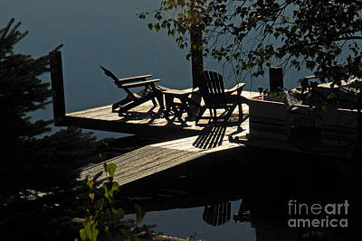 Early Morning At The Lake Art Print by Cindy Manero