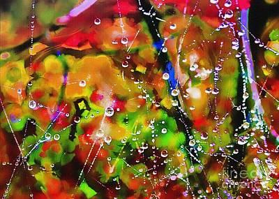 Early Morning Dew Art Print by Judi Bagwell