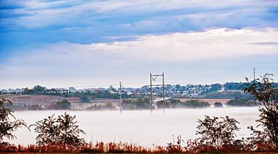 Photograph - Early Morning Lowland Fog by Edward Peterson