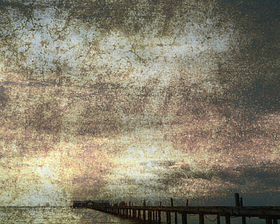 Dream Photograph - Early Morning Pier 2 by Skip Nall