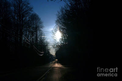 Photograph - Early Morning Rural Road by Susan Stevenson