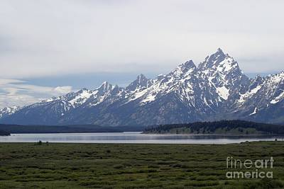 Photograph - Early Morning View Of The Grand Tetons by Living Color Photography Lorraine Lynch