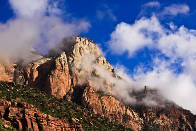 Photograph - Early Morning Zion National Park by Tom and Pat Cory