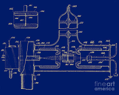 Early Patent For Accelerator, 1937 Art Print by Science Source