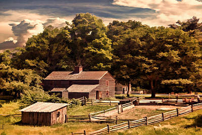 Early Settlers Art Print