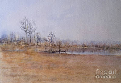 Petrie Island Painting - Early Spring On Petrie Island by Kathy Harker-Fiander